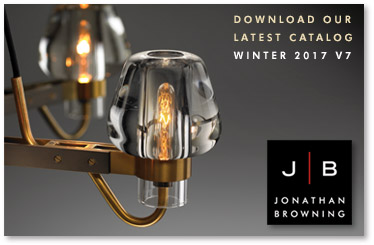 Jonathan browning lighting Chamont Sconce Jonathan Browning Studios Is Please To Present The New Winter 2017 Digital Catalog Five New Lighting Designs And One New Cocktail Table Products The Bright Group Boston Chicago Dallas New York Jonathan Browning Studios News And Events