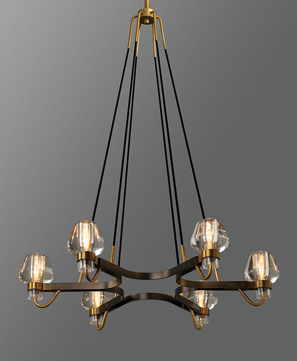 jonathan browning lighting.  Jonathan Montalembert 6 Light Chandelier To Jonathan Browning Lighting R