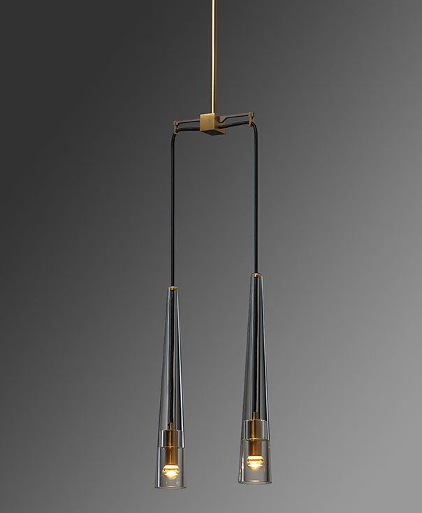 Apollinaire 2 Light Pendant